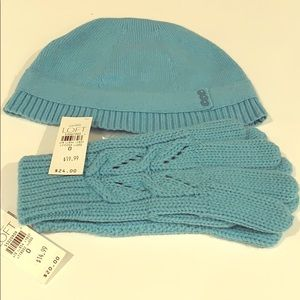 Loft Knit Hat and Gloves
